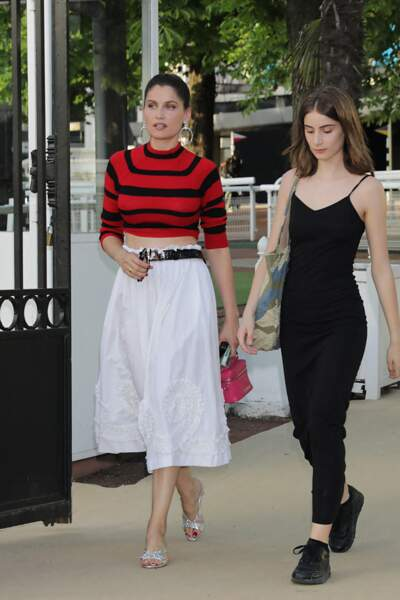 Laetitia Casta et sa fille de 17 ans, Sahteene Sednaoui