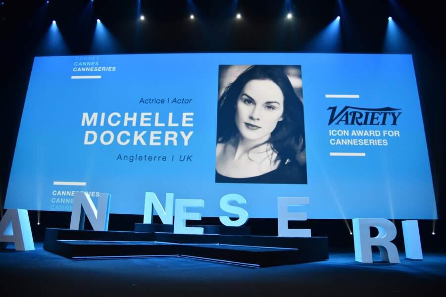 La star de Downton Abbey recevait le prix Variety Icon Award