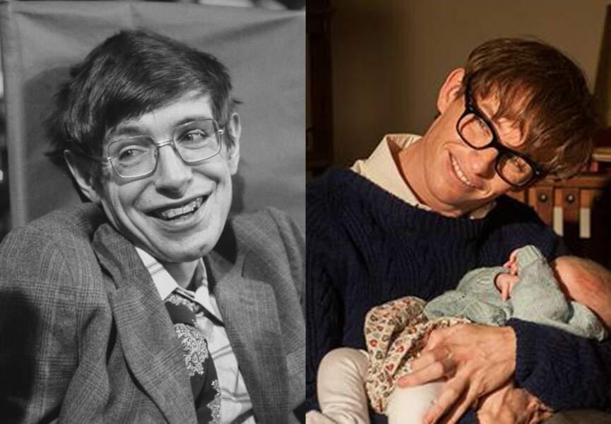Eddie Redmayne interprète Stephen Hawking