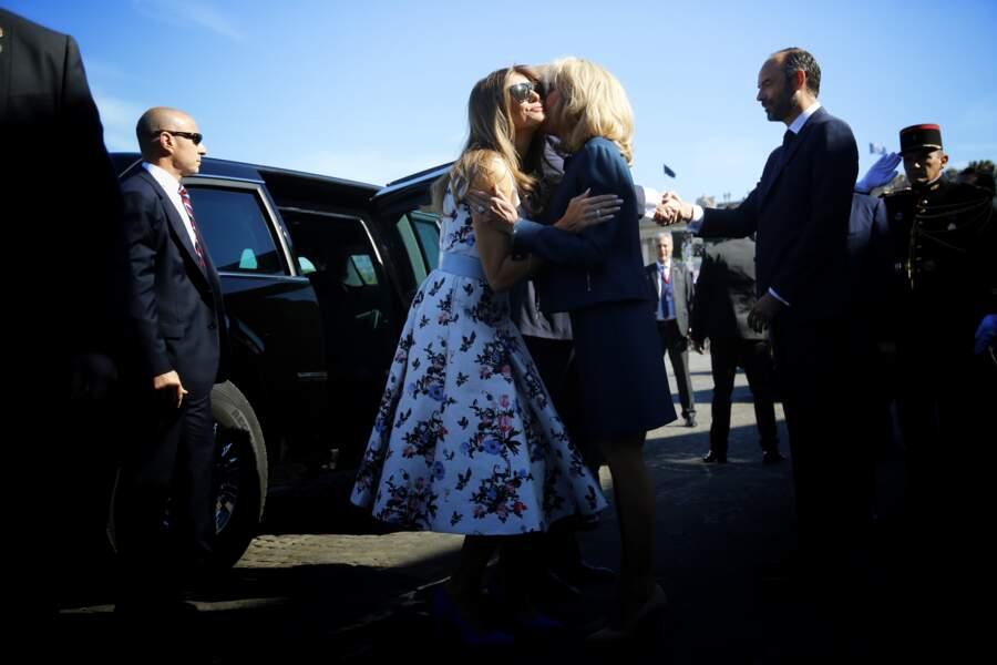 Melania Trump est la Première dame que Brigitte Macron a le plus rencontrée depuis l'élection d'Emmanuel Macron