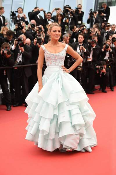 Blake Lively en Vivienne Westwood Couture