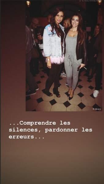 Rachel Legrain-Trapani se fait plaisir en publiant des photos de soirées de Malika Ménard
