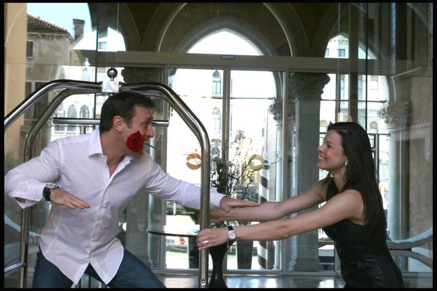 Daniel Ducruet et Kelly Marie Lancien à Venise en 2010