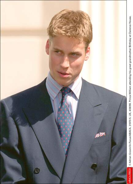 Le prince William, très blond en 1999