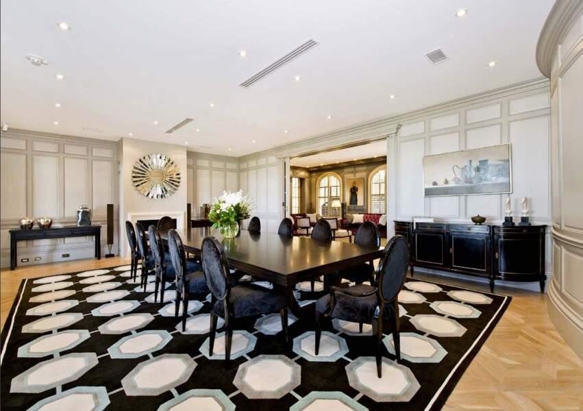 La salle à manger de la demeure de Meghan Markle et du prince Harry en Australie