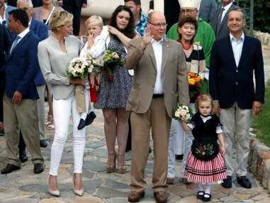 PHOTOS - Gabriella et Jacques de Monaco, craquants, stars du grand pique-nique des Monégasques