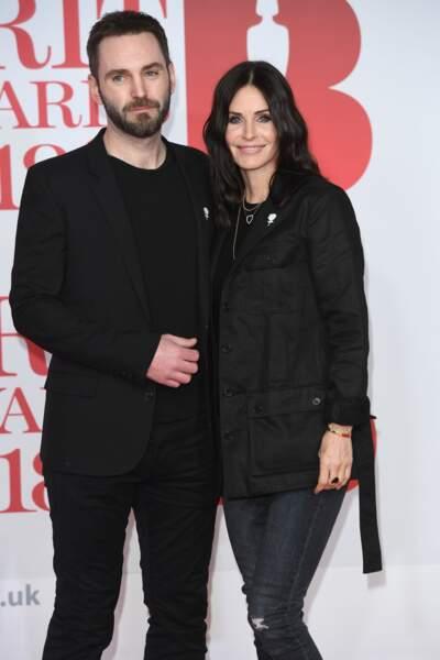 Courtney Cox (53 ans) et son compagnon, le musicien Johnny McDaid (41 ans)