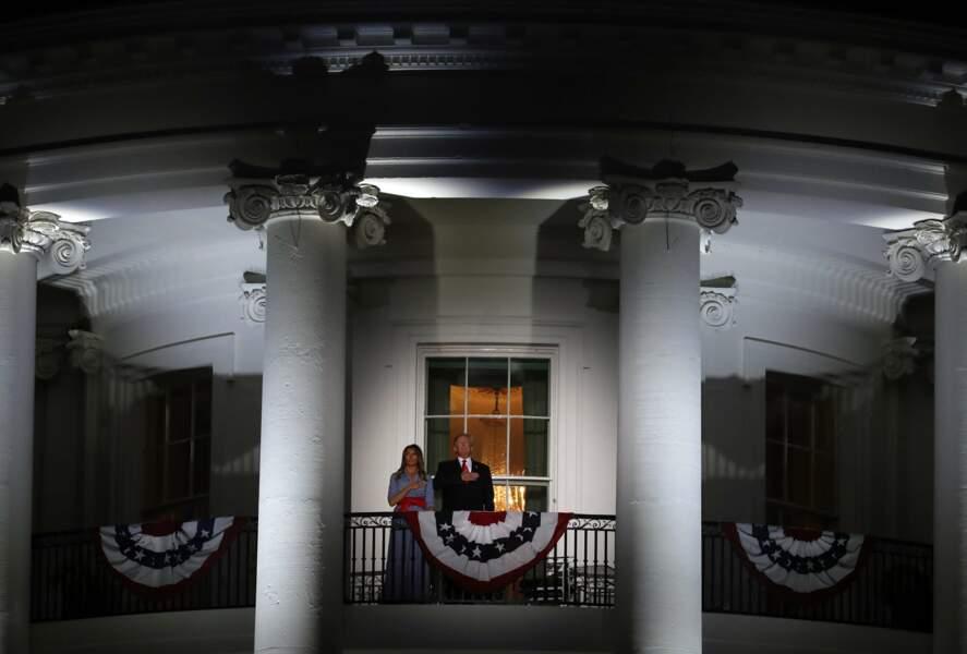 Le 4 juillet, les Américains célébraient leur fête nationale