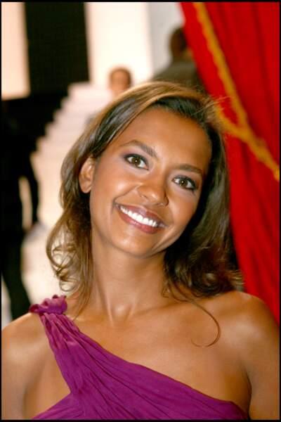 2006 : Karine Le Marchand lors de la 20 ème cérémonie des Molières