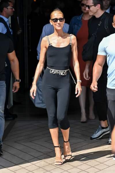 Céline Dion est une fidèle de la maison Chanel depuis des années