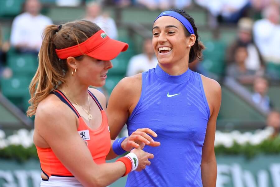 Comme un air de réconciliation entre Alizé Cornet et Caroline Garcia