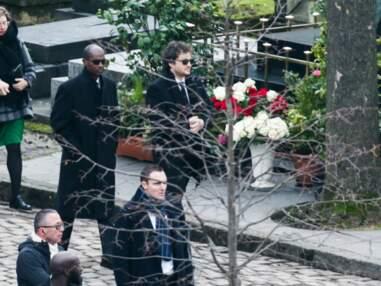 Photos - Les arrivées des personnalités aux obsèques de France Gall au cimetière de Montmartre