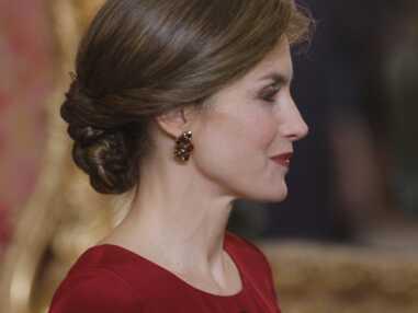 Letizia d'Espagne, sublime en robe longue