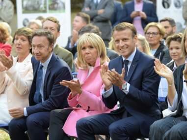 Stéphane Bern et Brigitte Macron : une amitié très tactile