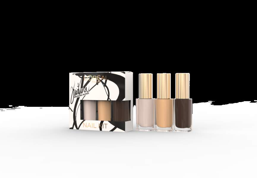 L'Oréal Paris x Kristina Bazan, Coffret vernis, 11,80€