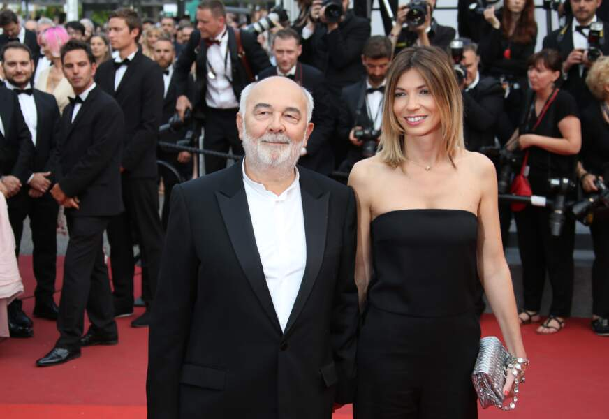 Patricia Campi très à l'aise pour sa première venue au Festival de Cannes