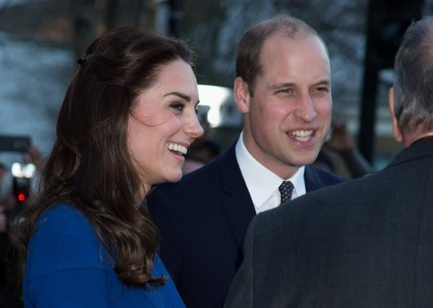 Pour cette visite officielle, le couple était assorti.