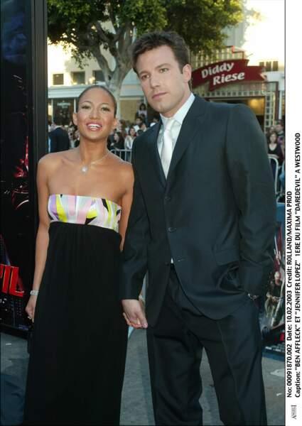 Jennifer Lopez sort alors avec la star du moment : Ben Affleck