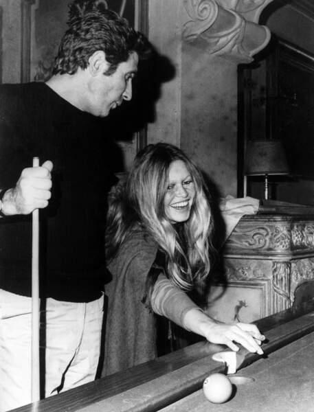 Brigitte Bardot et Gilbert Becaud