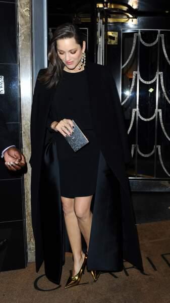 Marion Cotillard, à Londres