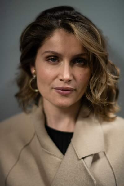 Laetitia Casta lors de la première du film 'L'Homme fidèle' à Milan en Italie, le 6 avril 2019.