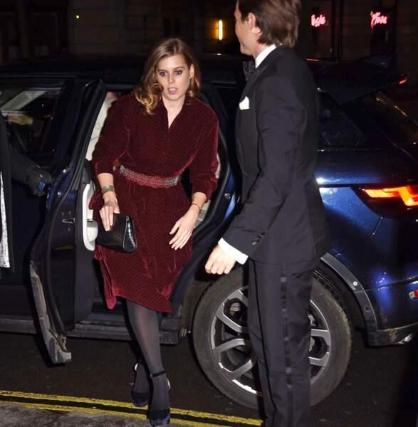 Il s'agissait de la première sortie officielle de Béatrice d'York et Edoardo Mapelli Mozzi, en couple depuis 5 mois