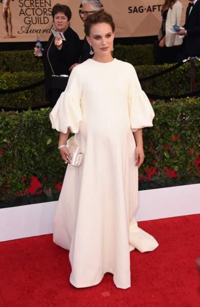 Elle était rayonnante dans sa robe Dior