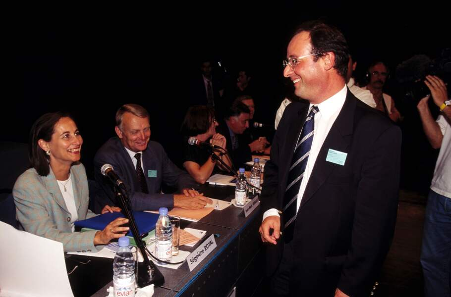 avec Jean-Marc Ayrault lors des journées parlementaires du PS le 10 Septembre 1997 à Montpellier