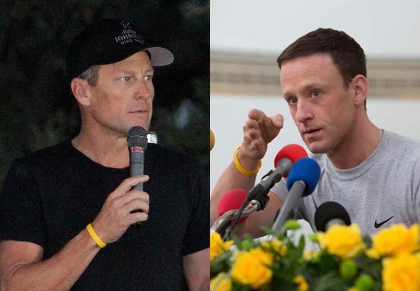 Lance Armstrong y est joué par Ben Foster