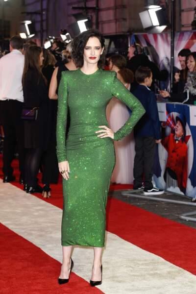 Eva Green lookée dans une robe Alexandre Vauthier printemps/été 2019