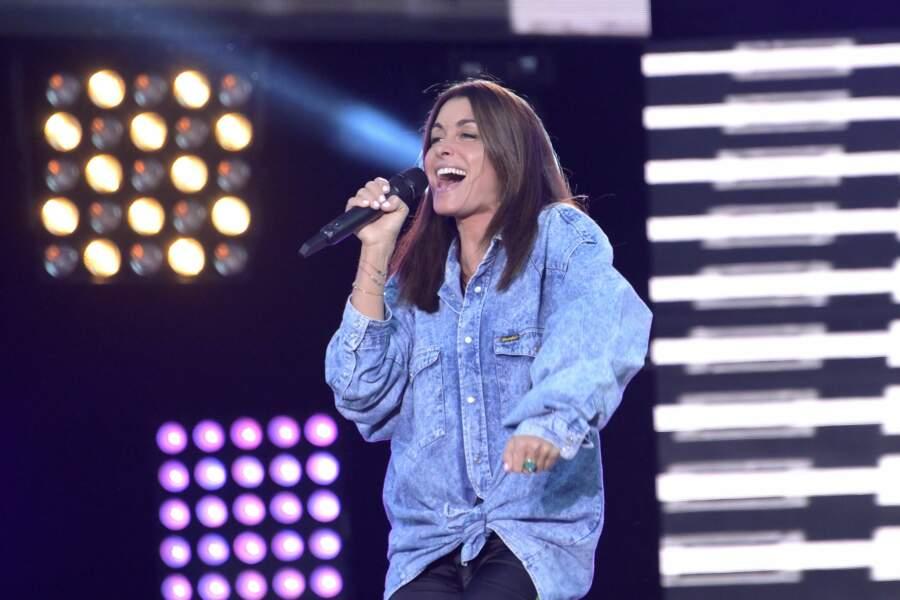 Jenifer était stylée sur la scène du concert organisé par RFM