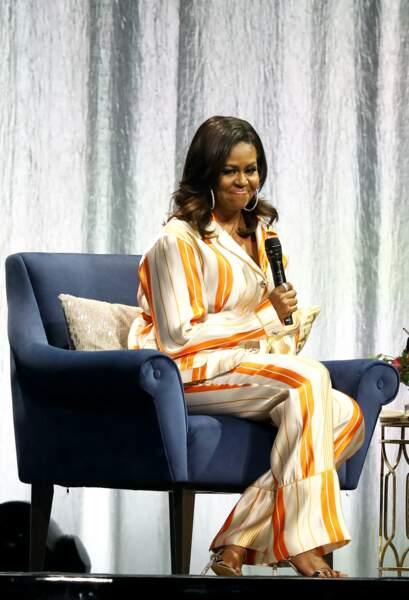 Michelle Obama a une nouvelle fois été inspirante
