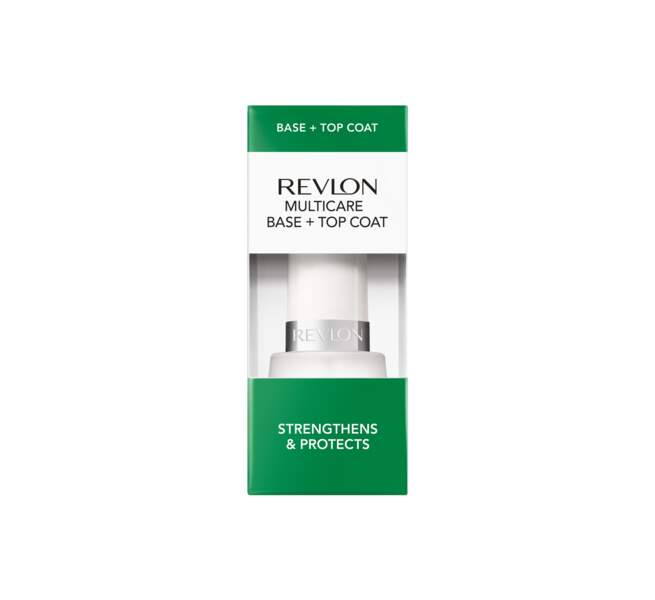 Soin « Multi-Care Base + Top Coat » Revlon, 7,95€