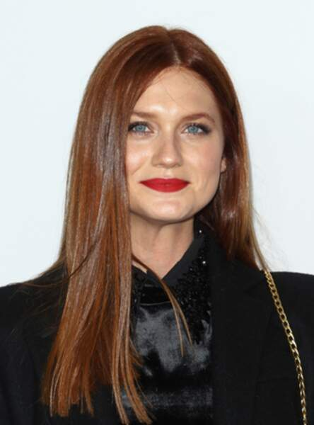 Le roux intense de Bonnie Wright