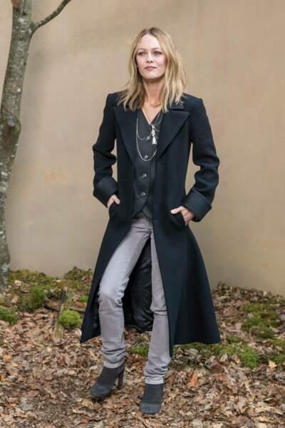 Vanessa Paradis venue sans sa fille Lily-Rose Depp