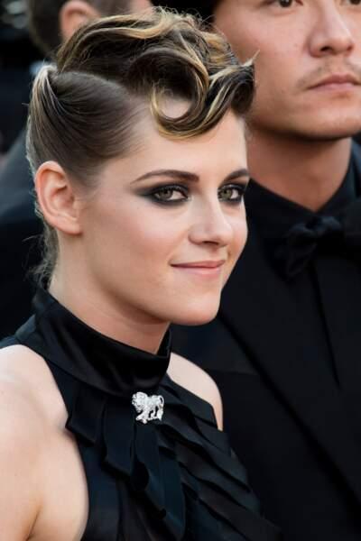 Kristen Stewart  et sa coque tendance