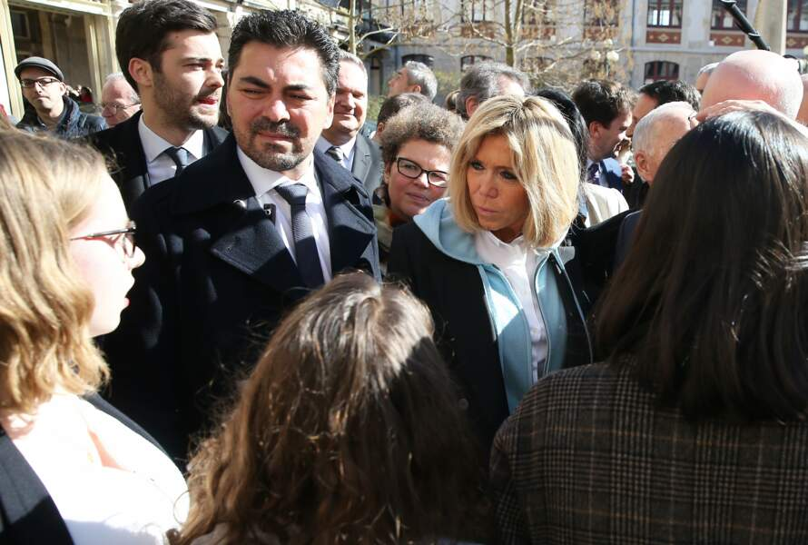 Brigitte Macron à Dijon