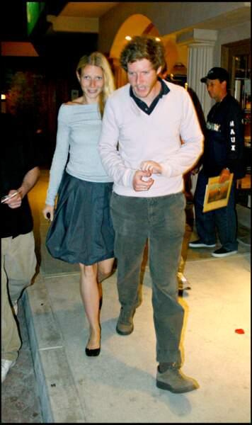 Gwyneth Paltrow et Chris Martin à Los Angeles en 2007