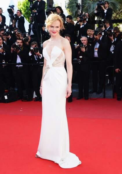 Nicole Kidman sublime son décoletté