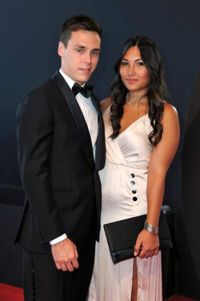 Louis Ducruet et sa fiancée Marie Chevallier - Clôture du 57ème Festival de télévision de Monte-Carlo le 20/06/17