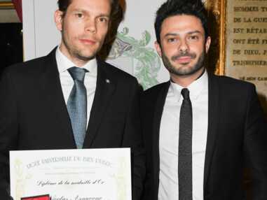 PHOTOS - Nicolas, le fils de Charles Aznavour reçoit un prix en hommage à son père