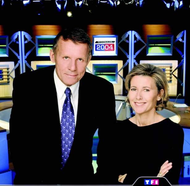 PPDA et Claire Chazal sur TF1