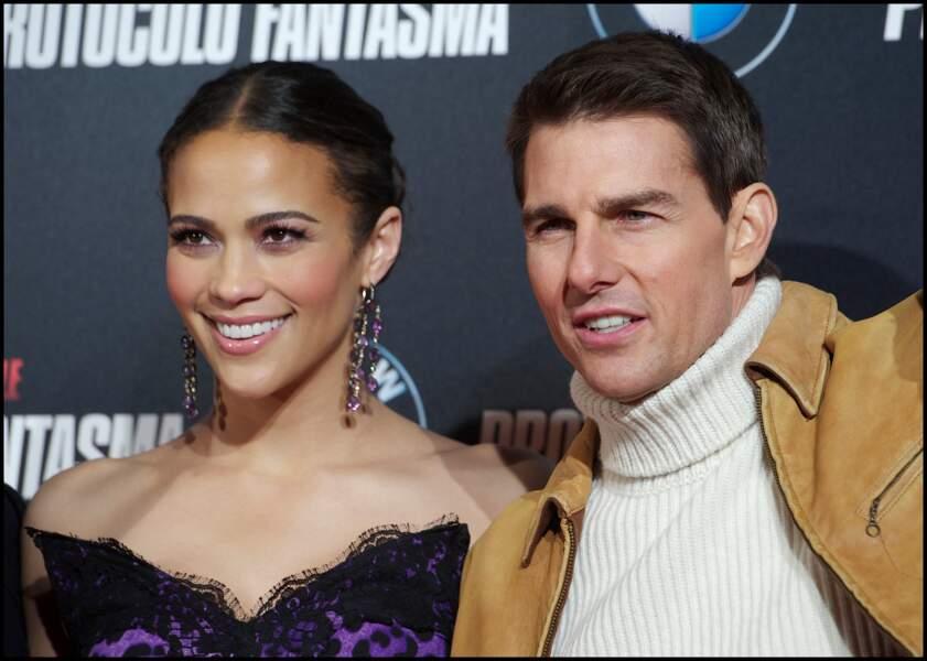 Tom Cruise et Paula Patton pour Mission Impossible Protocole Fantôme en 2011