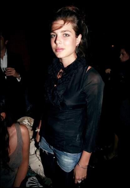 Au défilé de Mode Miu Miu, collection prêt à porter Printemps/été 2007, à Paris.