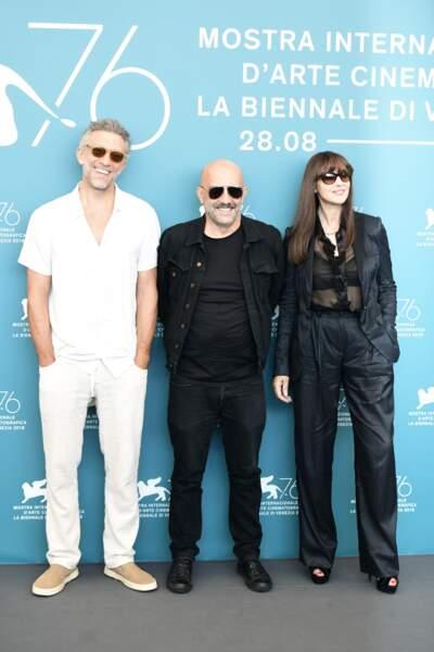 Les deux ex Vincent Cassel et Monica Bellucci étaient tout sourire à la Mostra de Venise