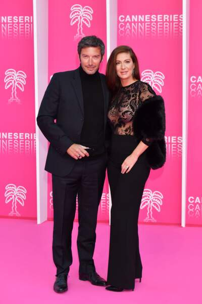 Franck Semonin (Section de recherche) et son épouse Hélène