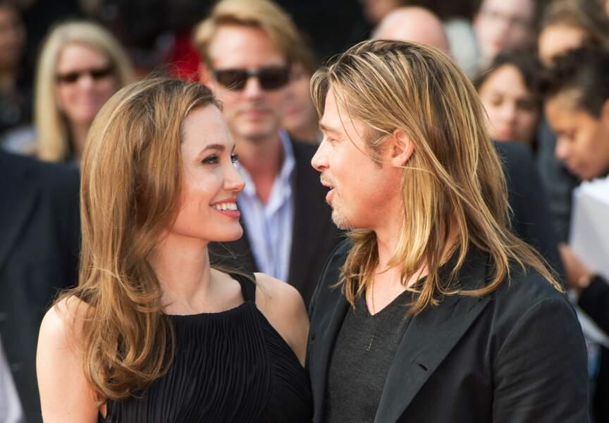 Angelina Jolie et Brad Pitt traversent les années toujours amoureux