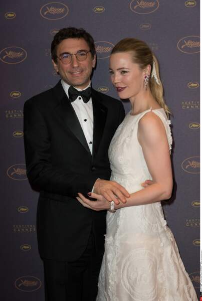 Festival de Cannes 2016 Jean David Blanc et Melissa George