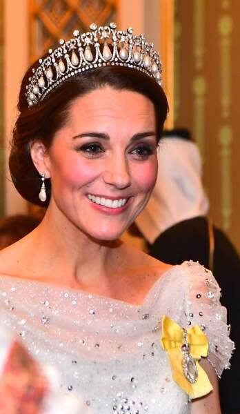 Kate Middleton plus souriante et radieuse que jamais