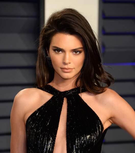 Le brushing parfait de Kendall Jenner.